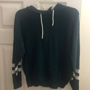 Forever 21 forest green hoodie